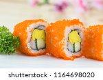 traditional fresh japanese... | Shutterstock . vector #1164698020