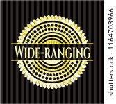 wide ranging gold emblem or... | Shutterstock .eps vector #1164703966