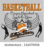 basketball team | Shutterstock .eps vector #116470456