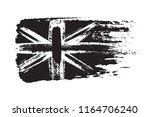 vintage union jack  great... | Shutterstock .eps vector #1164706240