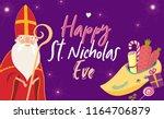 cartoon style greeting card... | Shutterstock .eps vector #1164706879