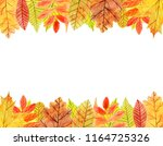 rectangular inner frame of... | Shutterstock . vector #1164725326
