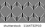 seamless pattern with striped... | Shutterstock .eps vector #1164732910