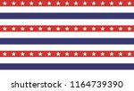 4th of july stars abstract... | Shutterstock .eps vector #1164739390
