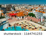 lisbon  portugal   august 20 ... | Shutterstock . vector #1164741253