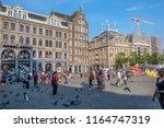 amsterdam  netherlands   august ... | Shutterstock . vector #1164747319