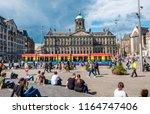 amsterdam  netherlands   august ... | Shutterstock . vector #1164747406