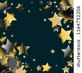stars confetti diagonal border. ...   Shutterstock .eps vector #1164752206