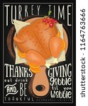 Thanksgiving Day Menu. Turkey...