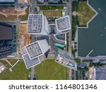 top view of the singapore... | Shutterstock . vector #1164801346