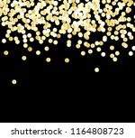 abstract gold glitter...   Shutterstock .eps vector #1164808723