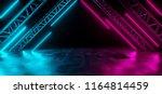 modern futuristic sci fi purple ... | Shutterstock . vector #1164814459
