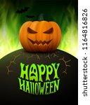 Halloween Background. Vector...