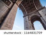 arch de triumph paris   Shutterstock . vector #1164831709