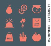 group vector icons set. with... | Shutterstock .eps vector #1164838759