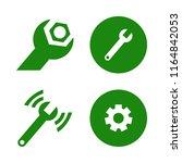 industrial vector icons set.... | Shutterstock .eps vector #1164842053