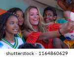 rio de janeiro  brazil   august ...   Shutterstock . vector #1164860629