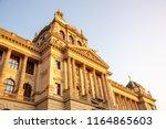 detailed view of czech national ... | Shutterstock . vector #1164865603