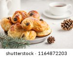 traditional swedish christmas... | Shutterstock . vector #1164872203