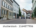 a view of a street in basel... | Shutterstock . vector #1164877906