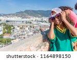 rio de janeiro  brazil   august ...   Shutterstock . vector #1164898150