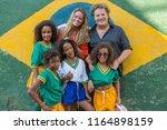 rio de janeiro  brazil   august ...   Shutterstock . vector #1164898159