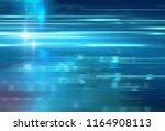 abstract defocus digital... | Shutterstock . vector #1164908113