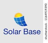 solar energy logo | Shutterstock .eps vector #1164919390