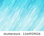 light blue vector pattern with... | Shutterstock .eps vector #1164929026