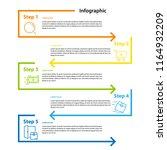infographic element design 4...   Shutterstock .eps vector #1164932209