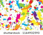 abstract vector colorful... | Shutterstock .eps vector #1164932593