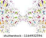 abstract splatter color concept ... | Shutterstock .eps vector #1164932596