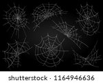vector cobweb. spider web for... | Shutterstock .eps vector #1164946636