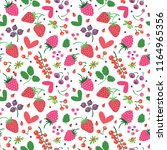 seamless bright pattern with... | Shutterstock .eps vector #1164965356