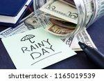 Rainy Day Fund Savings. Jar...