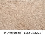brown wrinkle recycle paper... | Shutterstock . vector #1165023223