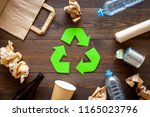 recycling. green recycle eco...   Shutterstock . vector #1165023796