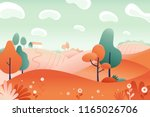 vector illustration in flat... | Shutterstock .eps vector #1165026706