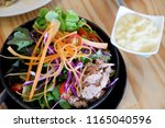 fresh   tuna  salad. | Shutterstock . vector #1165040596