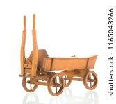 Antique Wooden Farmers Cart Fo...
