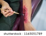 special effects makeup  make a... | Shutterstock . vector #1165051789