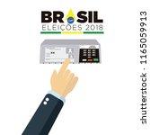 electronic ballot icon for...   Shutterstock .eps vector #1165059913