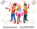 celebration  job event for... | Shutterstock .eps vector #1165067059