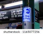 new york  usa   may 14  2018 ... | Shutterstock . vector #1165077256