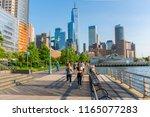 new york  usa   may 24  2018 ... | Shutterstock . vector #1165077283