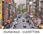 new york  usa   may 24  2018 ... | Shutterstock . vector #1165077286