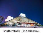rock and roll hall of frame... | Shutterstock . vector #1165081063