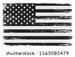 flag of usa.vector grunge... | Shutterstock .eps vector #1165085479