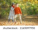 beautiful fashionable children   | Shutterstock . vector #1165097950