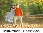beautiful fashionable children     Shutterstock . vector #1165097956